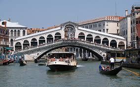 Vaporetto a Rialto Ferry in Rialto Venice