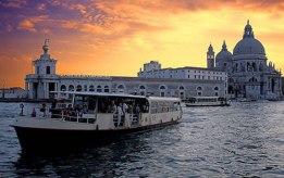 Vaporetto Venezia Ferry in Venice