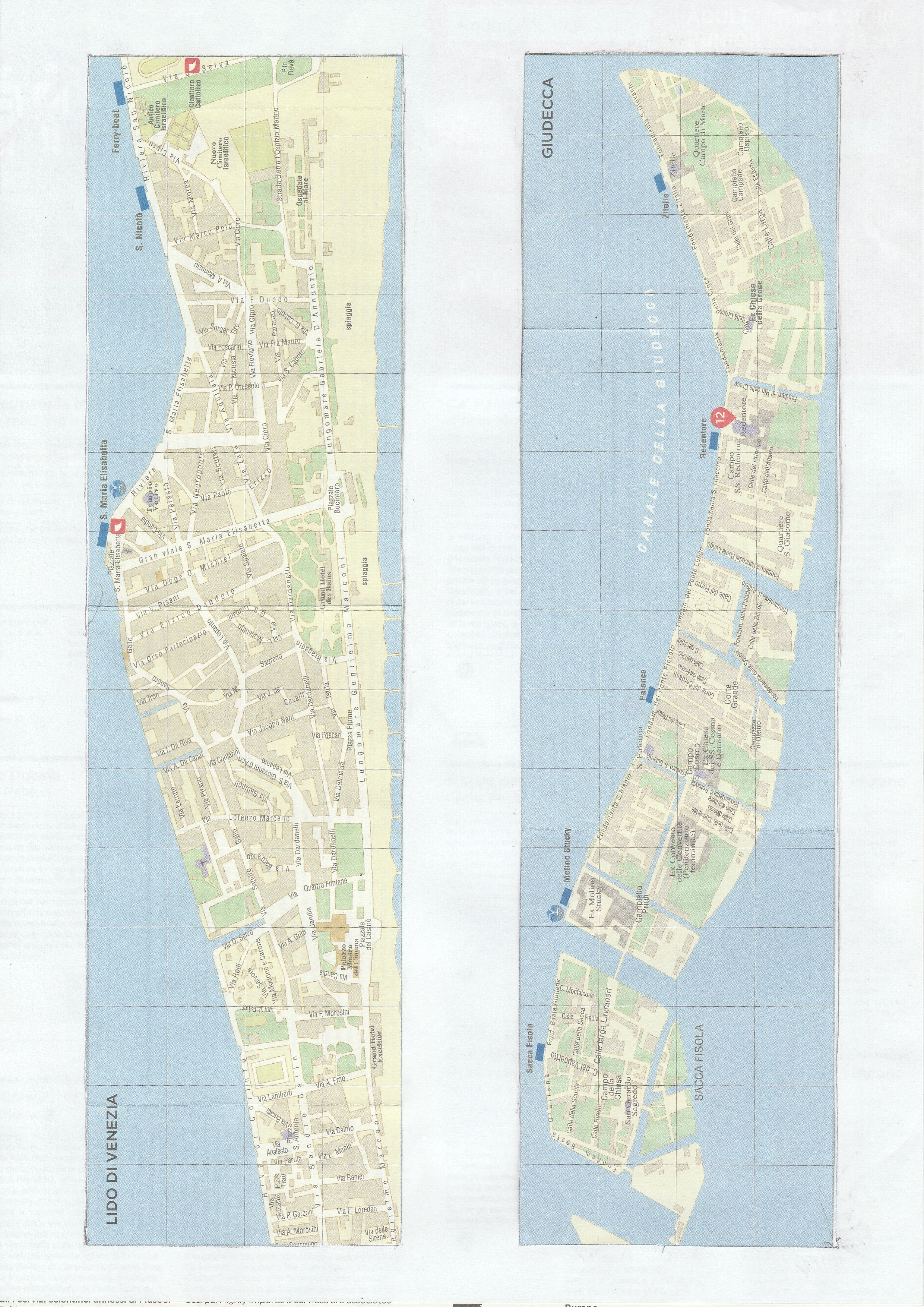 Free Venice Maps – Venice 4 all – all 4 Venice
